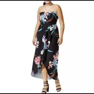 Maxi wrap dress
